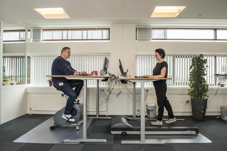 OfficeFits Bevægelseskoncept indeholder en lang række udstyr
